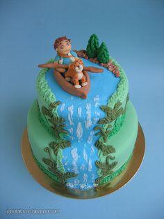 Diego cake by Cakes by Pixie Pie, via Flickr
