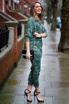 Floral Boilersuit from Topshop