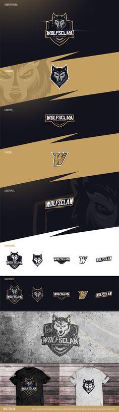 "Design by RaidenD   Wolf Mascot Logo for ""Wolfsclan"" // Sportslogo Style https://99designs.com/logo-design/contests/wolf-mascot-logo-wolfsclan-sportslogo-style-721991/entries/99"