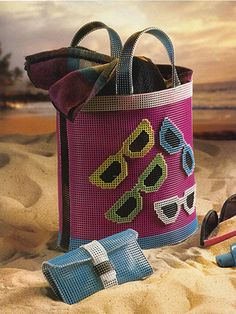 Sunglasses Beach Time Totes