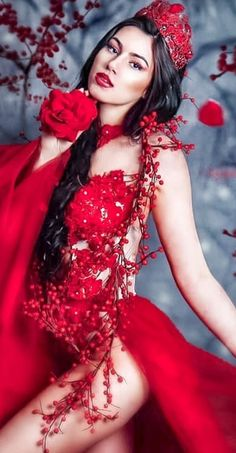 Beautiful Girl Image, Beautiful Women, Fantasy Art Women, Goth Beauty, Sacred Feminine, Foto Art, Fashion Gallery, Beauty Photography, Lady In Red