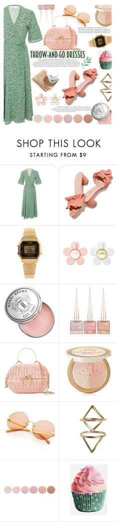 """Quick"" by swweetalexutza ❤ liked on Polyvore featuring Faithfull, Loeffler Randall, Casio, Marc Jacobs, Bobbi Brown Cosmetics, Christian Louboutin, Chanel, Too Faced Cosmetics, Rebecca Taylor and Deborah Lippmann"
