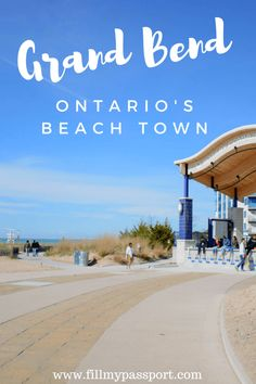 Head to the Beach on the shores of Lake Huron! Here is our guide to some of the best things to do in Grand Bend Ontario Beaches In Ontario, Vancouver, Montreal, Ontario Parks, Great Vacation Spots, Ontario Travel, Canada Destinations, Lake Huron, Worldwide Travel