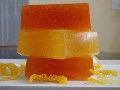 Skin care tips and ideas DIY Citrus Peel Soap