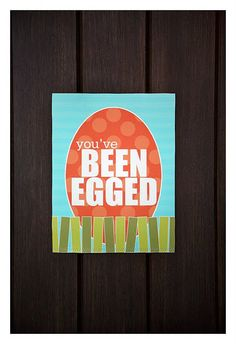 """""""You've Been Egged"""" neighbor gift.  I so wanted to do this last year but didn't see it in time.  It's a must do this year."""