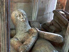 Hugh baron Despenser Tomb (d1349). Tewkesbury Abbey. Gloucestershire