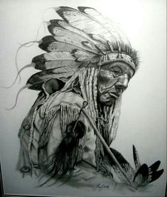 Native American Drawing, Native American Tattoos, Native Tattoos, Native American Images, Native American Artwork, Native American Wisdom, American Indian Art, Native Indian, Native Art