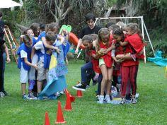 interaction game outdoor children - Google zoeken