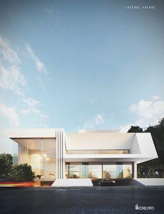 Aishweier Villa...Khobar, Saudi Arabia #project #design #architecture #architect #contemporary #modern #luxury #archi #facade #villa #saudi