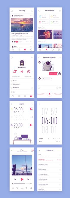 Radio app – User interface by Rwds