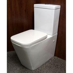 Waterware Aurora Quadra Back-To-Wall Suite Toilet Suites, Plumbing, Bathroom, Aurora, Wall, Home, Washroom, Full Bath, Ad Home