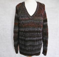 c54d09c72c5b Bramble hand knitted aran sweater knitted in marble chunky ready for you  now  bexknitwear.