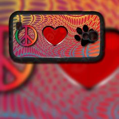 Peace Love Paw Design on Samsung Galaxy S4 Black Rubber Silicone Case by EastCoastDyeSub on Etsy https://www.etsy.com/listing/176780727/peace-love-paw-design-on-samsung-galaxy