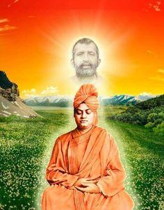 Resultado de imagen de images of Swami Vivekananda and Sri Ramakrishna