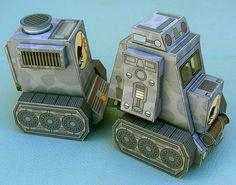 Dino Truck Free Paper Model Download