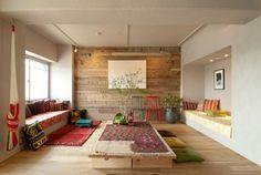 KOTESASHI-HOUSE エクレクティック-リビングルーム