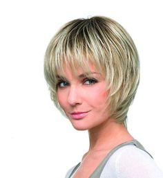 Fashion Deluxe Hair Power Ladies Wig By Ellen Wille in Sandy Blonde Rooted | Monofilament Wig | Valentine Wigs