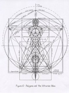 Mysteries of the Vitruvian Man | academysacredgeometry.com