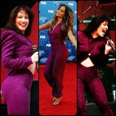 Jennifer Lopez in a Selena Inspired outfit - love Selena, loved Jennifer as Selena!