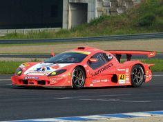 "ASL  Autobacs Racing Team Aguri, or ""ARTA"" GT300 Garaiya Race Car."