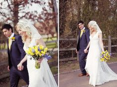 Anna and Richard were married in March at the beautiful Tewin Bury Farm Hotel, Hertfordshire. They wanted a Springtime barn wedding, which turned out to be oh so charming.