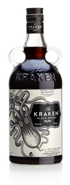 Kraken by Stranger & Stranger , via Behance