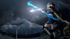 League of Legends Ashe bow and arrows by AudentiaGuild on Etsy