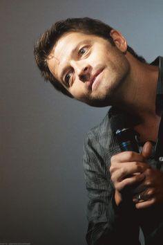 The gorgeous Misha Collins