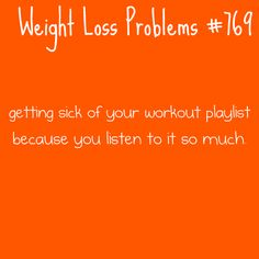 Weight loss problems