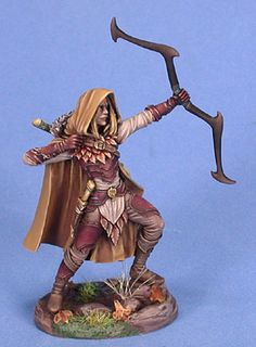 Male Wood Elf Archer - Dark Sword Miniatures