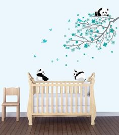 Amazon.com : Yellow Theme Nursery, Flower Decal, Flower Wall Murals : Baby