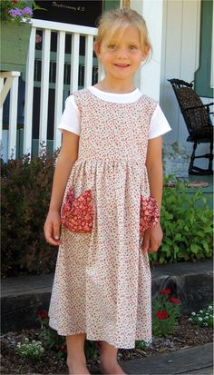 "good play dress- great pockets for collecting ""treasures"""