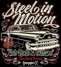 """Steel In Motion 2016"" 1954 Chevy Custom - event T-shirt #1954 #chevy #custom #event #Tshirt"