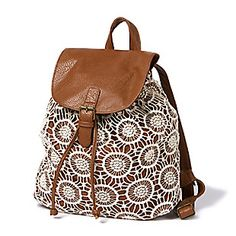 Crochet Backpack from Claire's $28.00