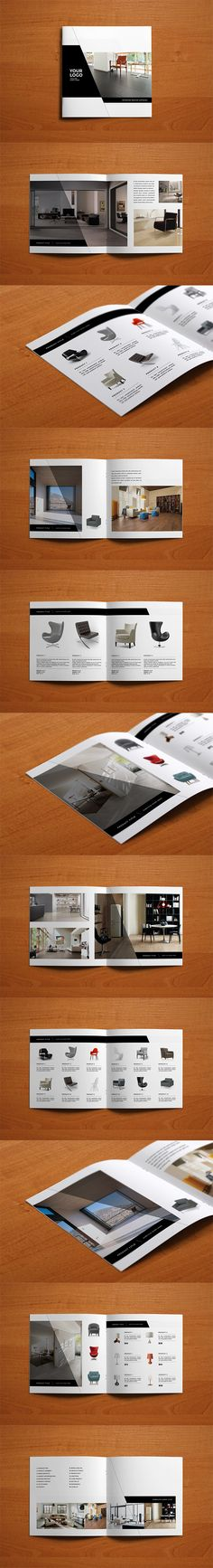 Minimal Interior Design Catalog on Behance