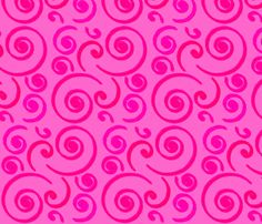 Pink Surf fabric by stickelberry on Spoonflower - custom fabric