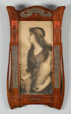 A picture frame, art nouveau, 1900.