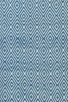 This diamond-patterned indoor/outdoor rug features an extravagant and luxurious geometric design at an affordable price. This piece is designed with both kids and pets in mind, and its durability will be apparent when this becomes your favorite rug inside, or outside, of the house!