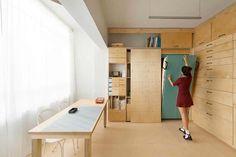 design Space saving studio