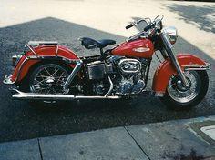 1968 Shovelhead Harley I love a red bike! Old School Motorcycles, Hd Motorcycles, Vintage Motorcycles, Indian Motorcycles, Amf Harley, Harley Bobber, Vintage Harley Davidson, Harley Davidson Motorcycles, Motorcycle Museum