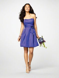 bridesmaid dress brighter royal blue