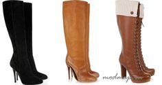 зимние женские сапоги на каблуке - Поиск в Google