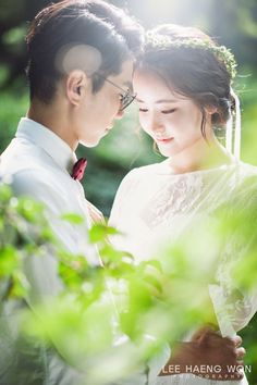 Korean Pre-Wedding in the Woods by Marry Antre on OneThreeOneFour 4