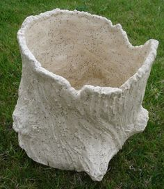Stump pot on Etsy.