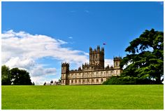 Highclere Castle, England - will be there in two weeks.  CAN NOT WAIT to walk the grounds and go inside.