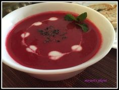 59. beetroot tomato soup