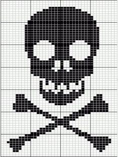Knitting charts patterns fair isles cross stitch 40 new ideas Knitting Charts, Knitting Stitches, Knitting Patterns, Crochet Patterns, Free Knitting, Simple Knitting, Sock Knitting, Vintage Knitting, Crochet Skull