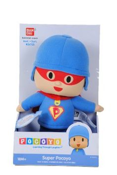 "Super Pocoyo 9"" Plush (Soft Face!):Amazon:Toys & Games"