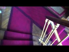 Going down 7 flights of stairs. ASMR http://www.youtube.com/missmindbuzz