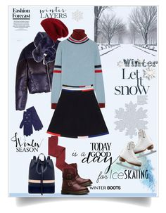 """""""Today is a good day for ice skating"""" by ellie366 ❤ liked on Polyvore featuring T By Alexander Wang, A.L.C., The Elder Statesman, Christopher Kane, Dr. Martens, Mother of Pearl, Intimately Free People, Banana Republic, Halogen and Riedell"""